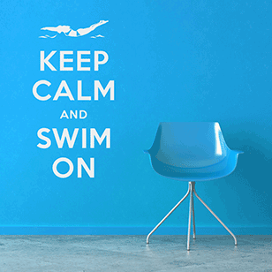keep-calm-swim-on-wall-decal